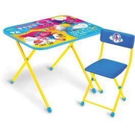 Комплект мебели Ника «Тролли» (2 уровня высоты стола)
