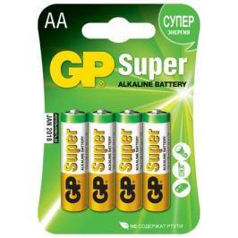Батарейка GP Super AA алкалиновая 4 шт.