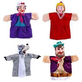 Кукольный театр Жирафики «Красная шапочка» 4 куклы