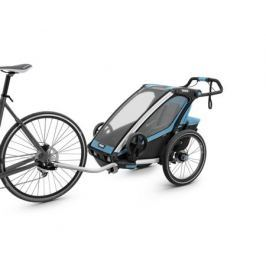 Коляска мультиспортивная (велоприцеп) Thule «Chariot Sport-1» голубой