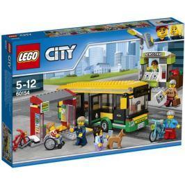 Конструктор LEGO City Town 60154 Автобусная остановка