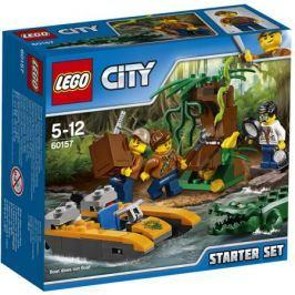 Конструктор LEGO City Jungle Explorer 60157 Набор «Джунгли» для начинающих