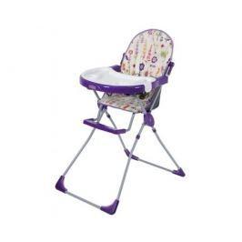 Стульчик для кормления Selby 251 «Яркий луг» фиолетовый