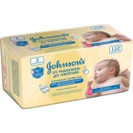 Влажные салфетки Johnson's baby «От макушки до пяточек» 112 шт.
