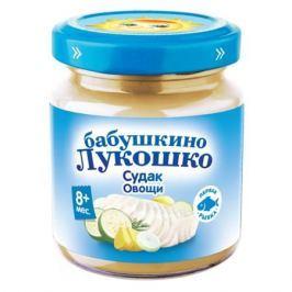 Пюре Бабушкино Лукошко «Судак-овощи» с 8 мес. 100 г