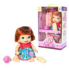 Кукла с мороженым 1Toy «Лакомка Лиза» с каре 36 см