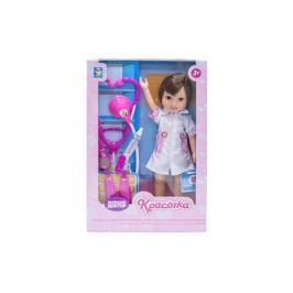 Кукла 1Toy «Красотка. Маленький Доктор» брюнетка с аксессуарами