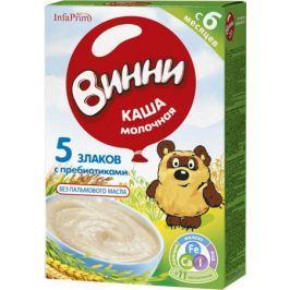 Каша молочная Винни 5 злаков с пребиотиками с 6 мес. 200 г