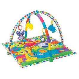 Развивающий коврик Playgro «В мире животных»