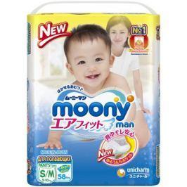 Трусики-подгузники Moony S/M (6-10 кг) 58 шт.
