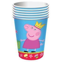 Стаканы бумажные Peppa Pig «Пеппа Принцесса» 220 мл 6шт.