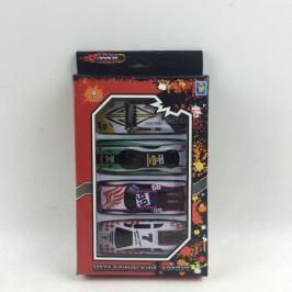 Набор металлических машинок 1Toy «Драйв» Street Race 4 шт.