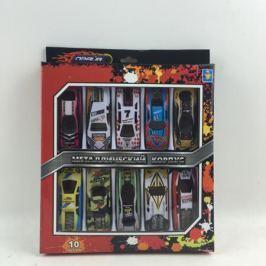 Набор металлических машинок 1Toy «Драйв» Street Race 10 шт.