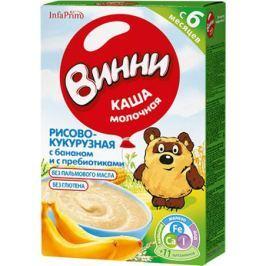Каша молочная Винни Рисово-кукурузная с бананом и с пребиотиками с 6 мес. 200 г