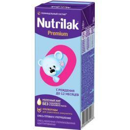 Молочная готовая смесь Nutrilak Premium стерилизованная адаптированная с рождения 200 мл