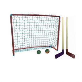 Игровой набор для хоккея Ase-Sport 2 клюшки, шайба, мячик, ворота в ассортименте