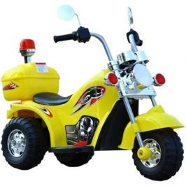 Электромотоцикл YX-995 желтый