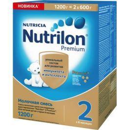 Молочная смесь Nutrilon 2 Premium с 6 мес. 2х600 г