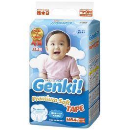 Подгузники Genki M (6-11 кг) 64 шт.