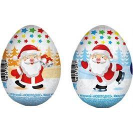 Шоколадное яйцо Солнышко в ладошках «Новогоднее» с игрушкой 20 г в ассортименте