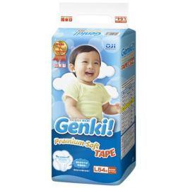 Подгузники Genki L (9-14 кг) 54 шт.
