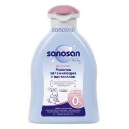Молочко увлажняющее Sanosan с пантенолом 200 мл
