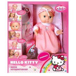 Пупс Карапуз «Hello Kitty» 32 см шлет поцелуи