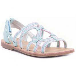 Туфли летние для девочки Barkito, мятные