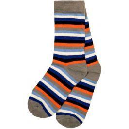 Носки для мальчика Barkito, 2 пары, серые с рисунком в полоску, серые