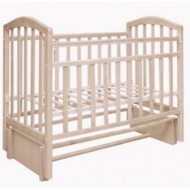 Кроватка Антел «Алита-5» продольн. маятник слоновая кость