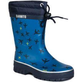 Сапоги для мальчика Barkito, темно-голубые