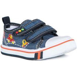 Полуботинки типа кроссовых для мальчика Barkito, синий