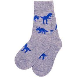 Носки для мальчика Barkito, серые с рисунком