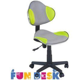 Детское компьютерное кресло FunDesk LST3 Green/Grey