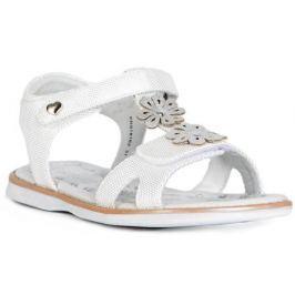 Туфли летние для девочки Barkito, белый