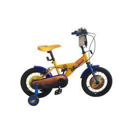 """Велосипед двухколесный Disney «Тачки» 14"""" желтый"""