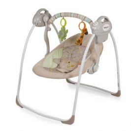 Качели напольные Baby Care «Riva» с адаптером кофейный