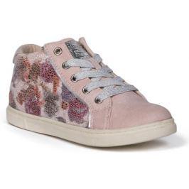 Полуботинки типа кроссовых для девочки Barkito, светло-розовый