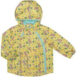Куртка для девочки Barkito, желтая с рисуком
