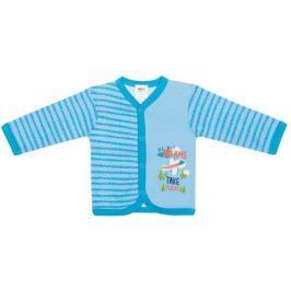 Кофточка для мальчика Barkito, 2 шт. «Маленький пилот», белая с рисунком, голубая в полоску
