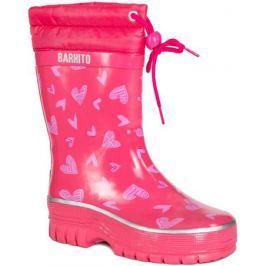 Сапоги для девочки Barkito, розовые
