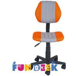 Детское компьютерное кресло FunDesk LST4 Orange/Grey