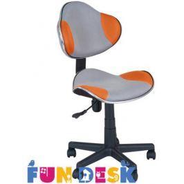 Детское компьютерное кресло FunDesk LST3 orange/Grey
