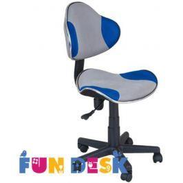 Детское компьютерное кресло FunDesk LST3 blue/Grey