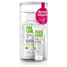 Подарочный набор Papa Care (мыло для рук, масло для массажа, крем под подгузник)