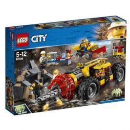 Конструктор LEGO City Mining 60186 Тяжелый бур для горных работ