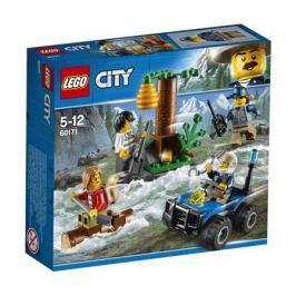 Конструктор LEGO City Police 60171 Убежище в горах