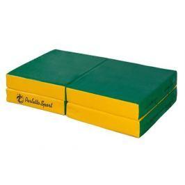 Мат Perfetto sport N 11 складной зелёно/жёлтый