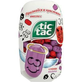 Драже Tic Tac Любовь «Клюква и малина» 98 г