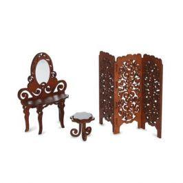 Набор мебели ЯиГрушка «Будуар» коричневый